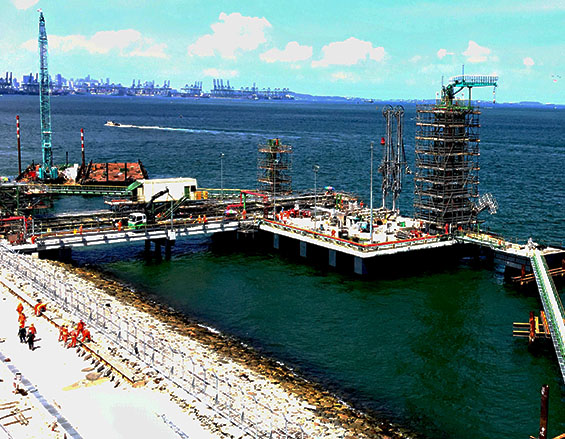 <span>Construction of</span>  Ports and Jetties