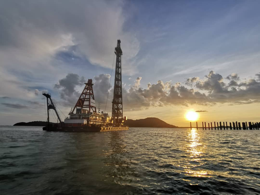 Piling Works for Kijing Port